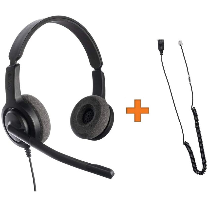 Axtel-VOICE-28-Duo-Headset-Package-For-Grandstream-IP-Phones-kit