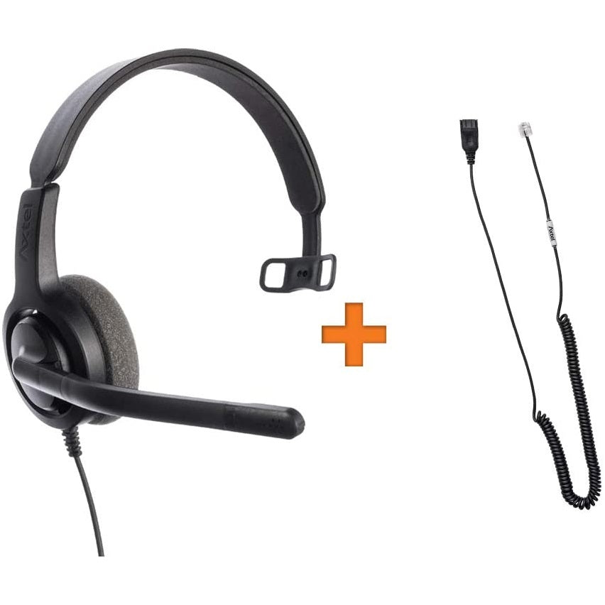 Axtel-VOICE-28-Mono-Headset-Package-For-Grandstream-IP-Phones-kit