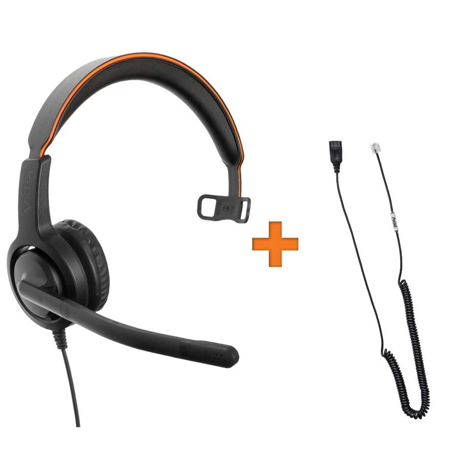 Axtel-VOICE-40-Mono-Headset-Package-For-Grandstream-IP-Video-Phones-kit