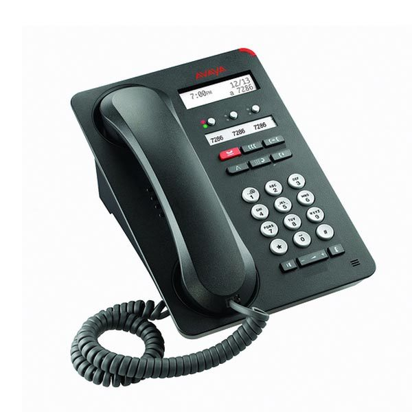 avaya-1603sw-i-english-text-ip-voip-phone-700458524-stock-photo