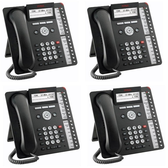 avaya-1616-i-global-icon-IP-phone-4-pack-700510908-stock-photo