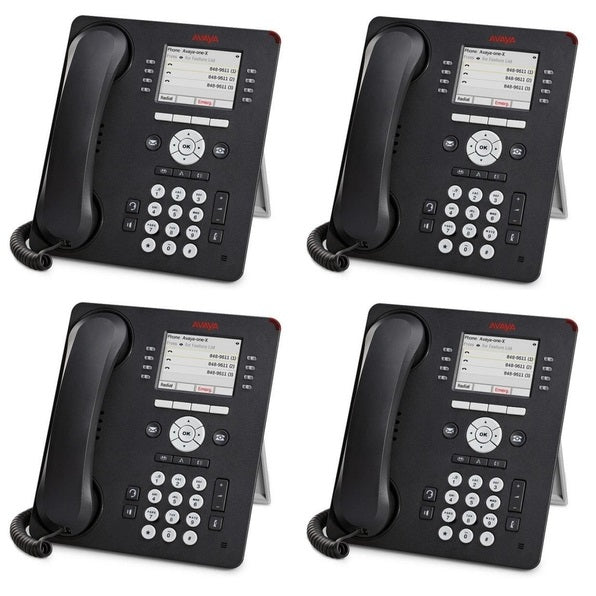 avaya-9611G-text-english-color-ip-voip-phone-4-pack-700510904-front-view