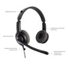 Axtel VOICE 28 HD Duo NC Headset (AXH-V28D)