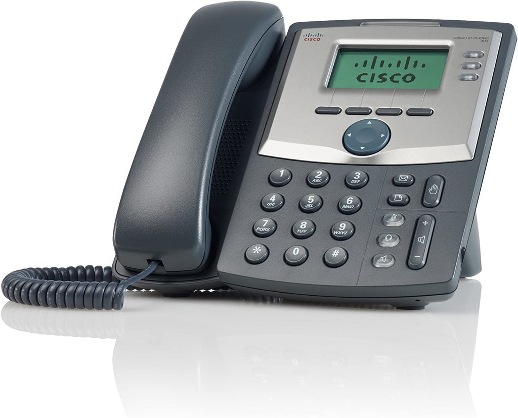 Cisco SPA303 3-Line IP Phone w/Power Adapter