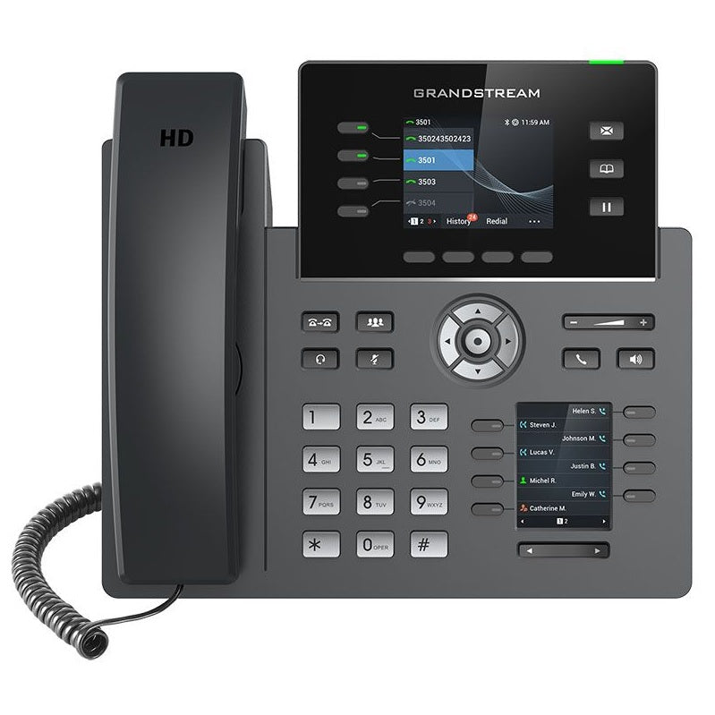 grandstream grp2614 ip phone front view
