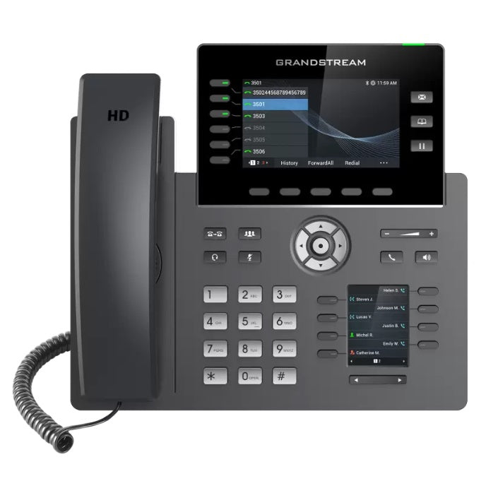 grandstream grp2616 ip phone front view