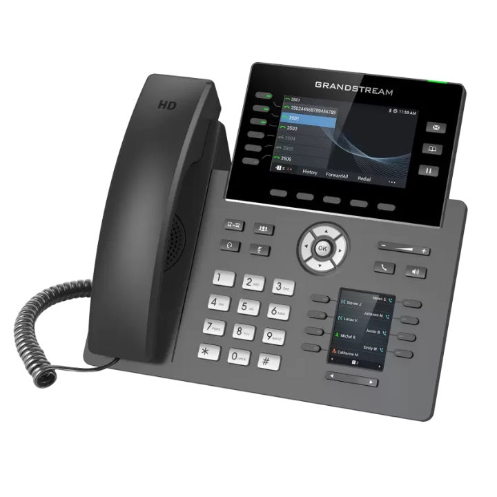 grandstream grp2616 ip phone tilted left