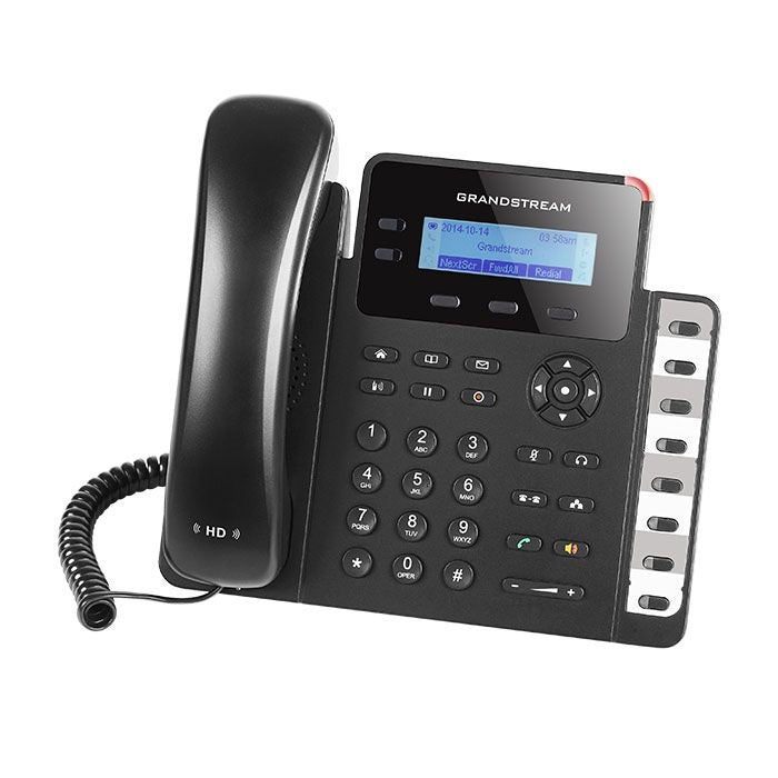 Grandstream GXP1628 IP Phone - Tilted Towards the Left
