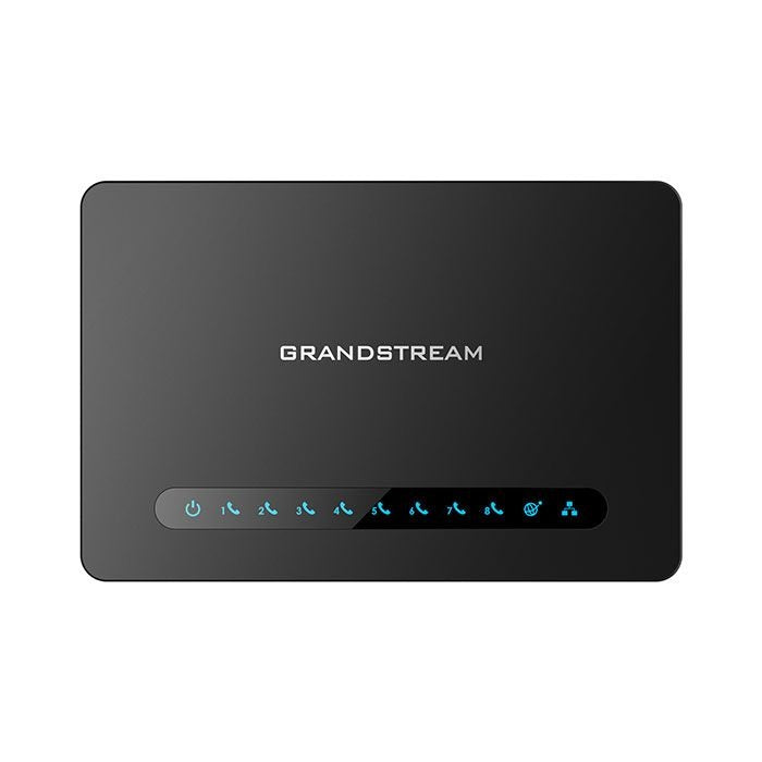 Grandstream HT818 8-Port FXS with NAT Router Analog Telephone Adapter (ATA)