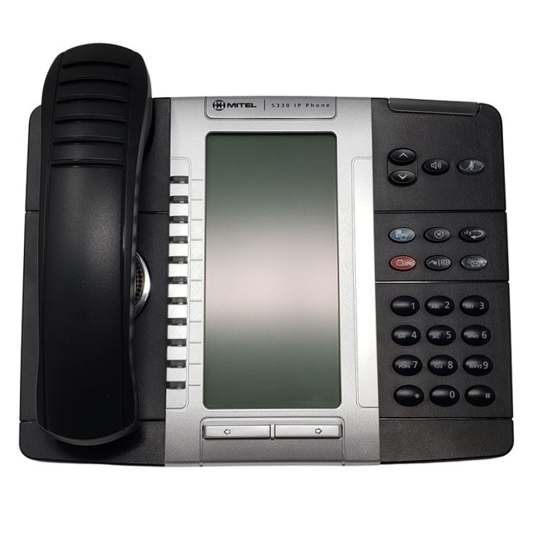mitel-5330-ip-phone-backlit-50005804-front