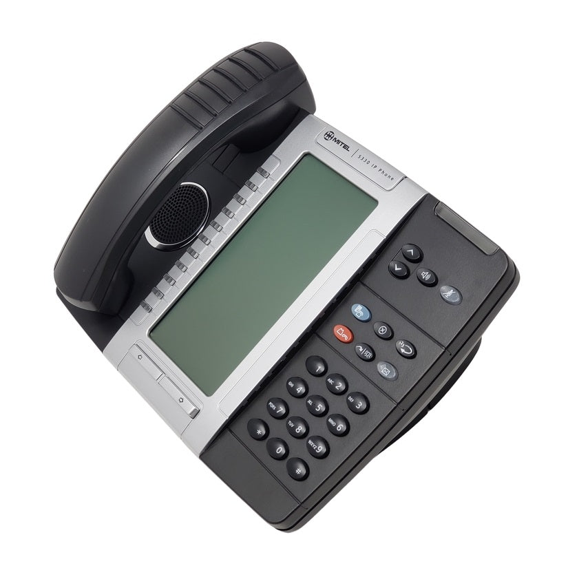 mitel-5330-ip-phone-backlit-50005804-side