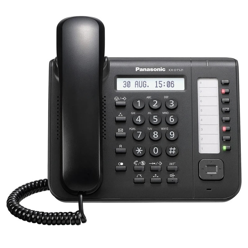 panasonic-kx-dt521-digital-phone-black-front
