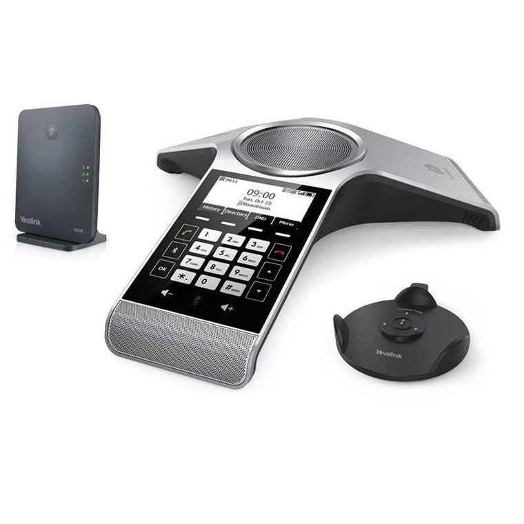 yealink-cp930wp-wireless-dect-ip-confernece-phone-with-base-station-side