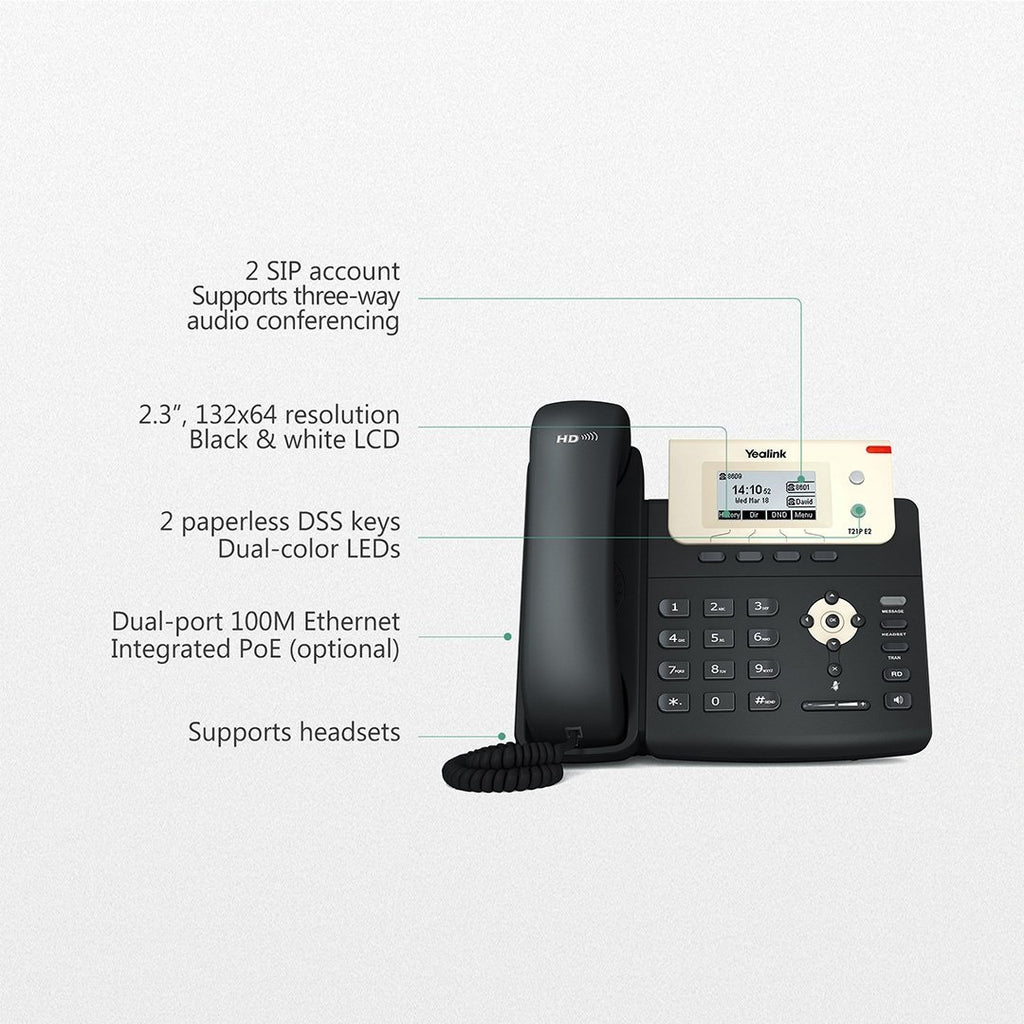 yealink-sip-t21p-e2-ip-phone-overview
