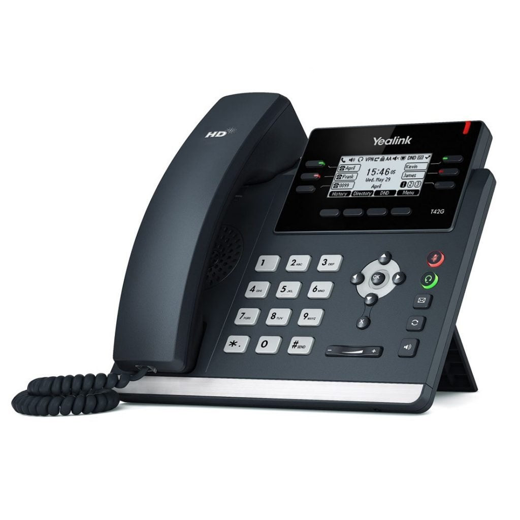 yealink-sip-t42g-gigabit-ip-phone-side