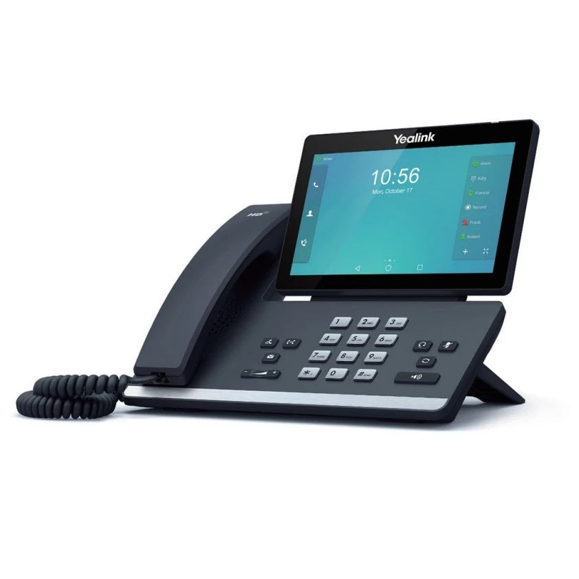 yealink-sip-t58a-ip-phone-side
