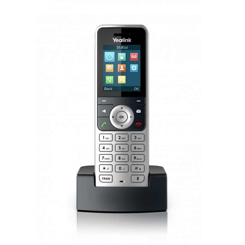 Yealink W60P Wireless IP Phone with Base Station