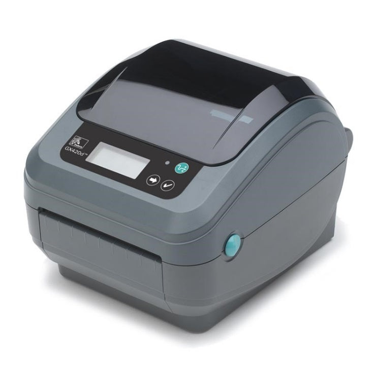 Zebra GX420D Thermal Desktop Label Printer with Display