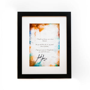 Collectors Lyric Frame