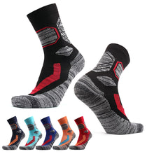 Load image into Gallery viewer, Women Skiing Socks Thick Wool Keep Warm Sports Socks Soft Towel Bottom Outdoor Hiking Wear Gym Socks Adult Man
