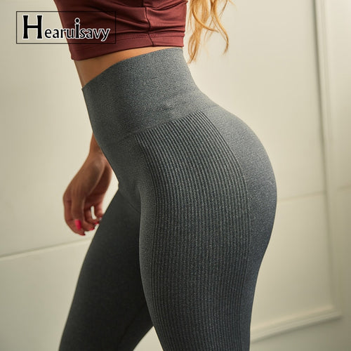 High Waist Seamless Yoga Pants Sports Leggings For Women's Workout Slim Gym Fitness push up Winter Running Tights Leggings