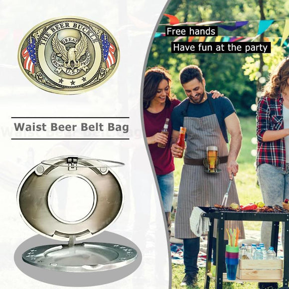Outdoor Bottle Waist Beer Belt Bag