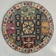 Load image into Gallery viewer, Fez Round Carpet - Mediouna Medallions