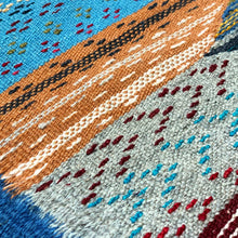 Load image into Gallery viewer, Berber Kilim - Sahara Dunes Blue