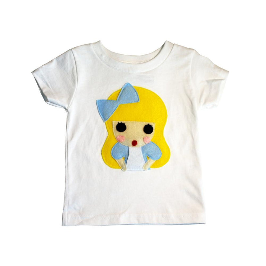 Alice - Alice's Adventure in Wonderland - Kids T-Shirt
