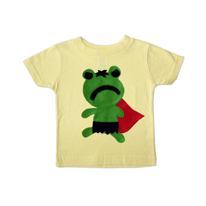 Kids Superhero Shirt - Hopper Froggy