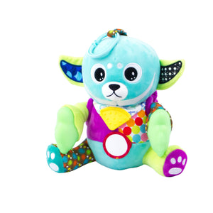 Yummy Buddy™ Teether Plush Sensory Toy - Glow in the Dark Hands