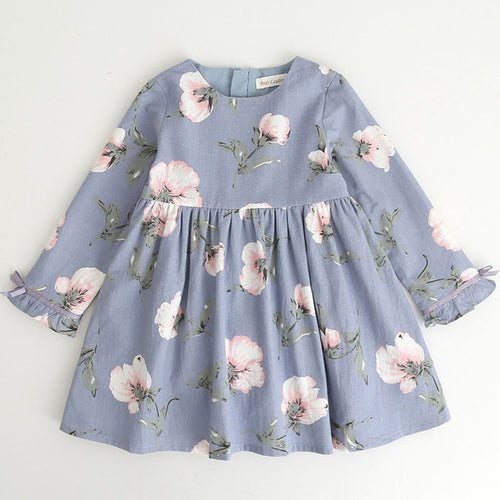 Blooming A-Line Dress