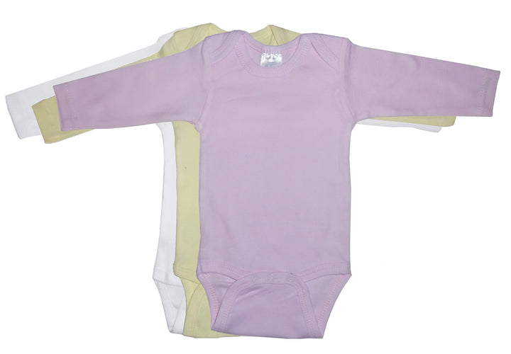 Boy's Pastel Long Sleeve Onezie