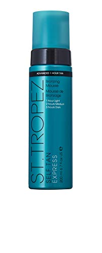 St. Tropez Sttropez self tan express advanced bronzing mousse, 6.7 Ounce