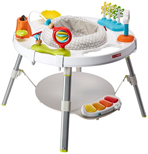 Skip Hop Baby Activity Center: Interactive Play Center with 3-Stage Grow-with-Me Functionality, 4mo+, Explore & More