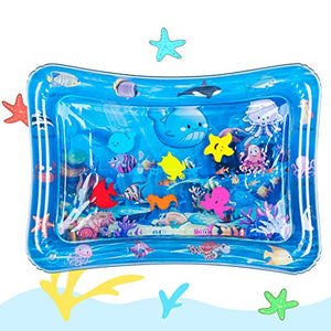 HititutoTummy Time Baby Water Mat Inflatable Baby Play Mat Activity Center for Infant Baby Toys 0 to 24 Months, Baby Gifts for Newborn Boys Girls