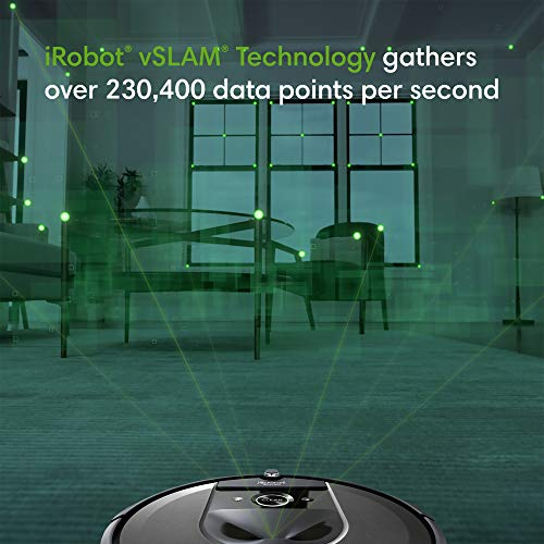 iRobot Roomba i7 (7150) Robot Vacuum- Wi-Fi Connected, Smart Mapping - Ideal for Pet Hair