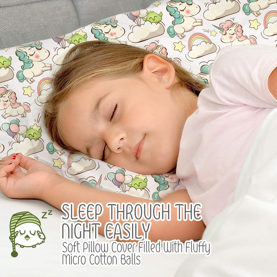 Toddler Pillow with Pillowcase