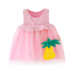Frilly Sunny Girls Dress