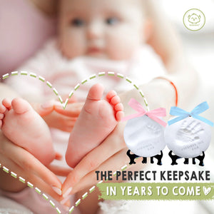 Baby Handprint Keepsake Ornament