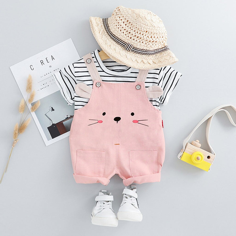 Girl Stripe Outfit