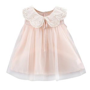 Cute Lace Collar Dress