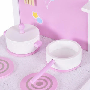 2 in 1 Kids Kitchen Play Set with Chair