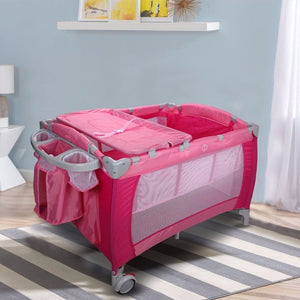 Multifunctional Portable Folding Baby Crib