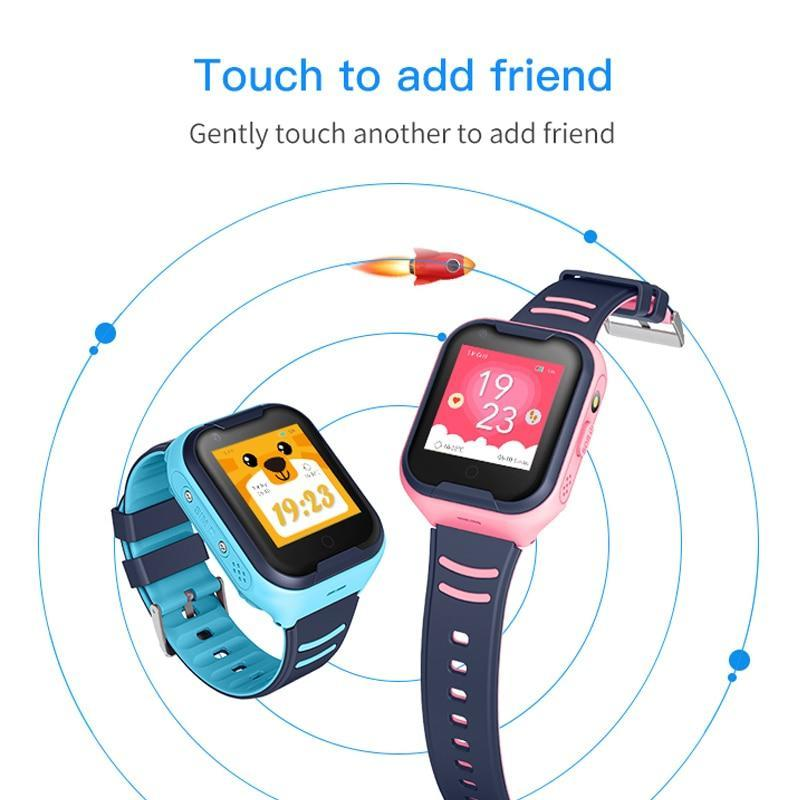 Rainproof Kids Smart Watch 4G with Wifi and GPS Tracker