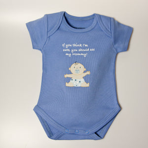 Cute as Mommy Bodysuit
