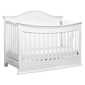 DaVinci Meadow 4-in-1 Convertible Crib with Toddler Bed Conversion Kit in White