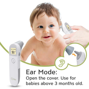 Baby Ear and Forehead Thermometer