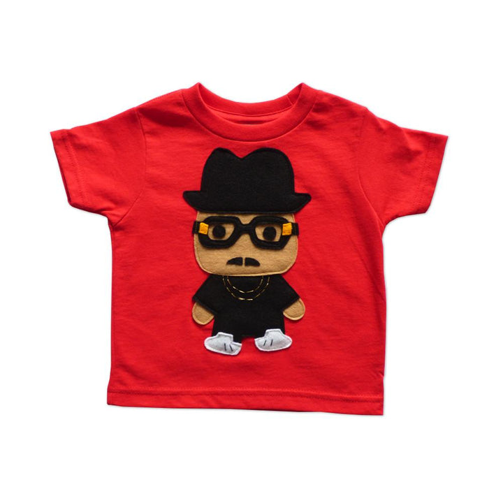 Kids T-Shirt - Gold Chain Rapper