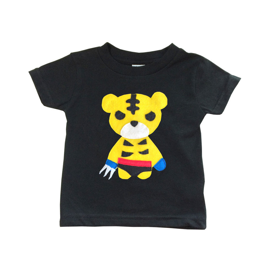 Kids Superhero Shirt - Sharp Tiger